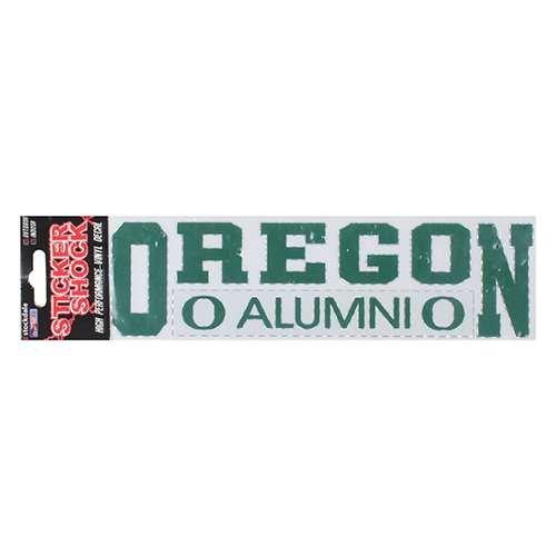 NCAA Oregon Ducks Alumni Car Decal