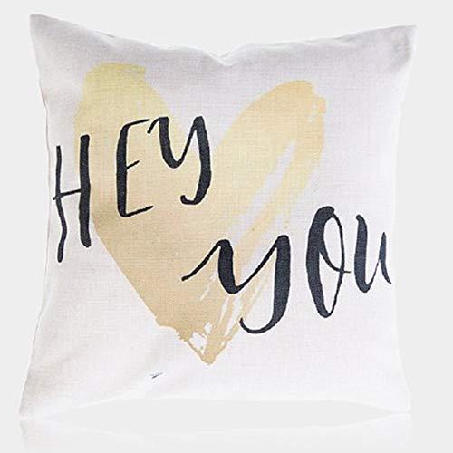 Amazon.com: FaceYee - Funda de almohada decorativa para sofá ...