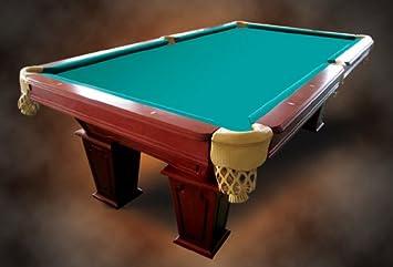 8 pies mesa de billar de madera maciza con ...