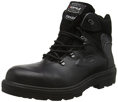 Cofra 25730-000.W46 Size 46 S3 WR CI SRC'Glendale' Safety Shoes - Black