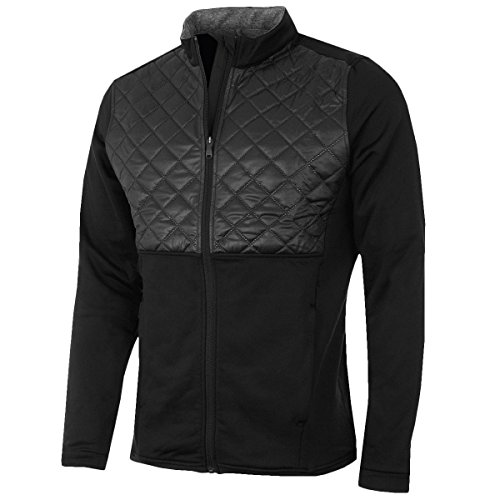 Adidas Golf 2016 Climaheat Prime Fill Insulated Quilted Mens Golf Thermal Jacket Black Large
