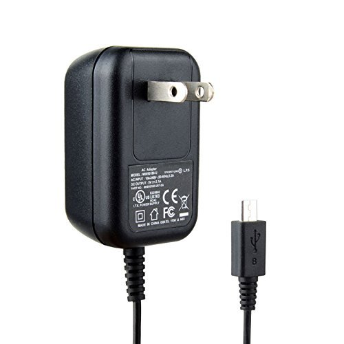 Micro USB Wall Charger AC Power Adapter for Kindle Fire black by Bunder