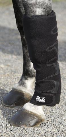 Ice Horse Pair of Knee to Ankle Wraps for Equine Therapy - Comes with 12 Ice Packs by Ice Horse (Image #3)