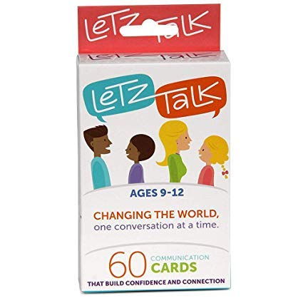 Letz Talk Card Game for...