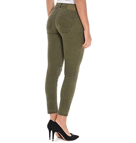 Pinko Donna Cotone 1J1098Y419X51 Verde Jeans wxCPxqTrY