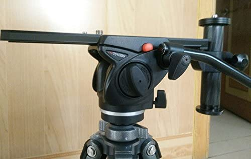 Telephoto Zoom Lens Support Bracket Holder Long-Focus Camera Support with Long Rail Quick Release Plate for Manfrotto and Benro
