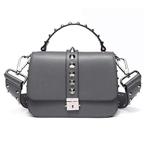 Black Bandoulière color Sac Fourre tout Gray À Houyazhan Main 0gwqS0X
