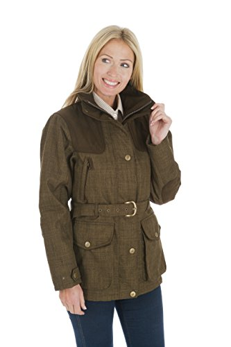 Sherwood Malham país chaqueta de las mujeres, chaqueta, mujer, color Verde - Moss Olive, tamaño 8 Verde - Moss Olive