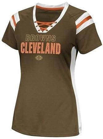 more photos 7542b 8560a Amazon.com : Majestic Cleveland Browns NFL Team Apparel ...
