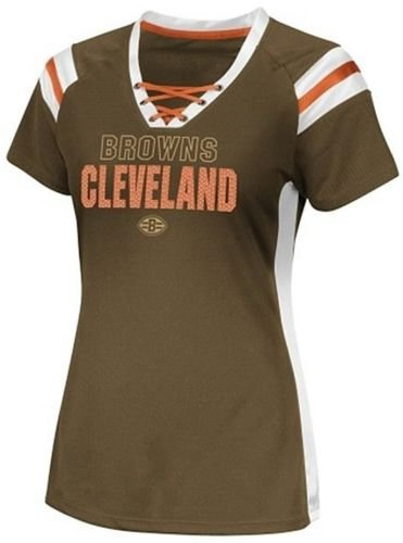 Majestic Cleveland Browns NFL Team Apparel Draft Me Women s Jersey Top  Brown Plus Sizes (4X f0333b1becbd