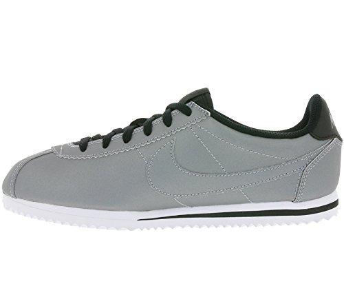 NIKE Cortez Premium (GS) Bambini della scarpa da tennis d'argento 905469 001