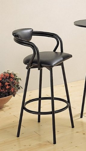 Set-of-2-29H-Satin-Black-R-Style-Barstool