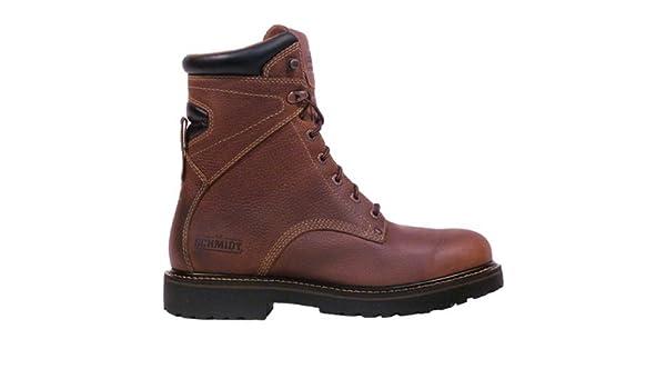 07484867ed9 Amazon.com : C.E. Schmidt® Men's 8 in. Classic Steel Cap Toe Boot ...