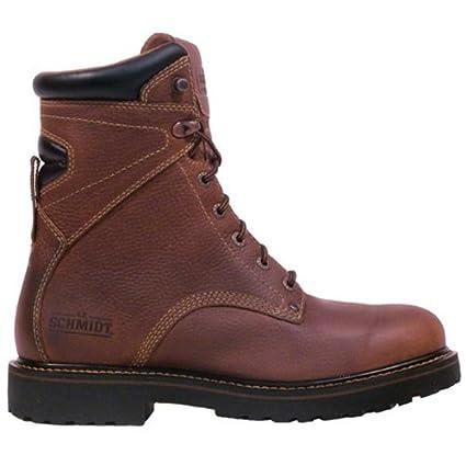 315c8e45f5b Amazon.com : C.E. Schmidt® Men's 8 in. Classic Steel Cap Toe Boot ...