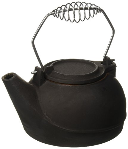 Vogelzang TK-02 Fireplace Kettles, Cast Iron, 3 Quart (Steamers Kettles And Wood Stove)