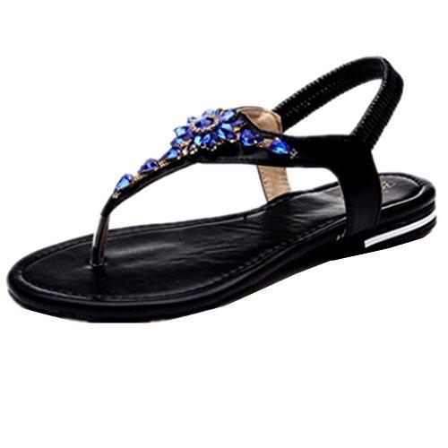 35 11 Mujeres Playa Sandalia Planas De Las Zapatos Sandalias Los Casuales Atléticos Deportivo OAw7H1Hxq
