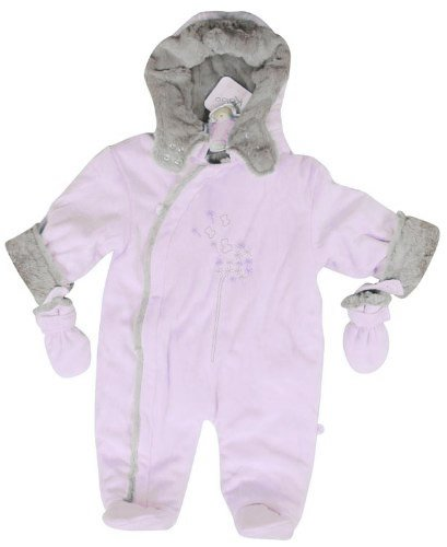 Kaloo Pink Winter Warmer Snowsuit (6-12 Months)