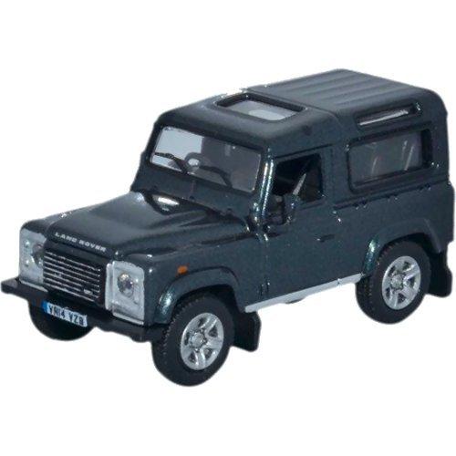 Land Rover Defender 90, noire, RHD, 0, voiture miniature, Miniature déjà montée, Oxford 1:76