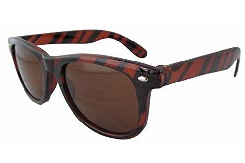 Eyekepper Small Size Rave Retro 80S Vintage Shades Sunglasses - Wayfarer Size Small