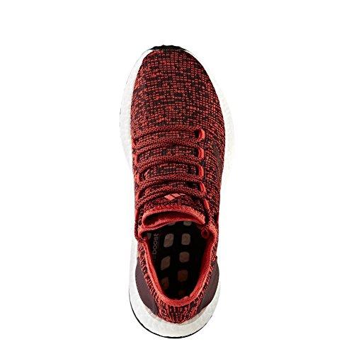 adidas Pureboost, Scarpe da Corsa Uomo Rosso (Rojtac/Borosc/Negbas)