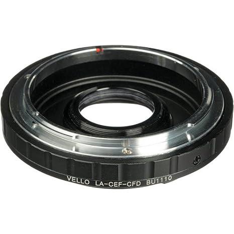 Amazon com : Vello Lens Mount Adapter - Canon FD Lens to Canon EOS