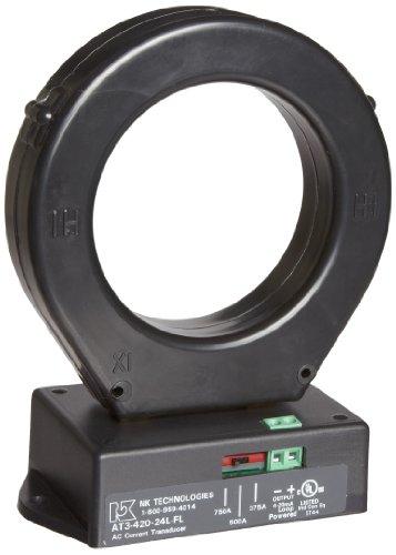 NK Technologies AT3-420-24L-FL AC Current Transducer, Sol...
