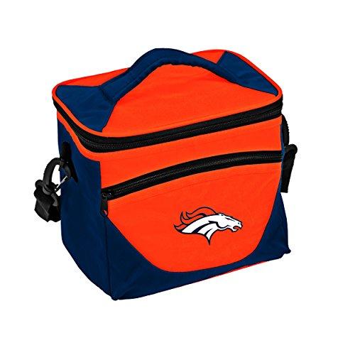 Logo Brands NFL Denver Broncos Halftime Lunch Cooler, One Size, Carrot