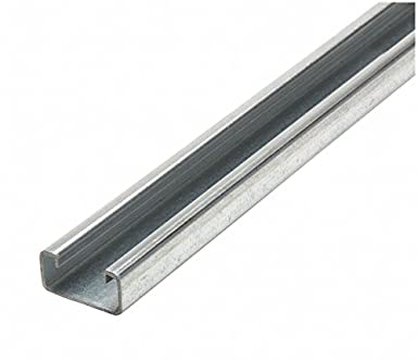 12 ga Pre-Galvanized Steel CAI Approved Slotted Standard 1-5//8 x 1-5//8 Strut Channel 5 ft.