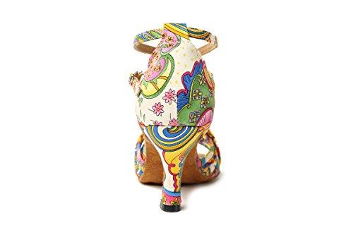 Minitoo salón mujer Multicolor-7.5cm Heel