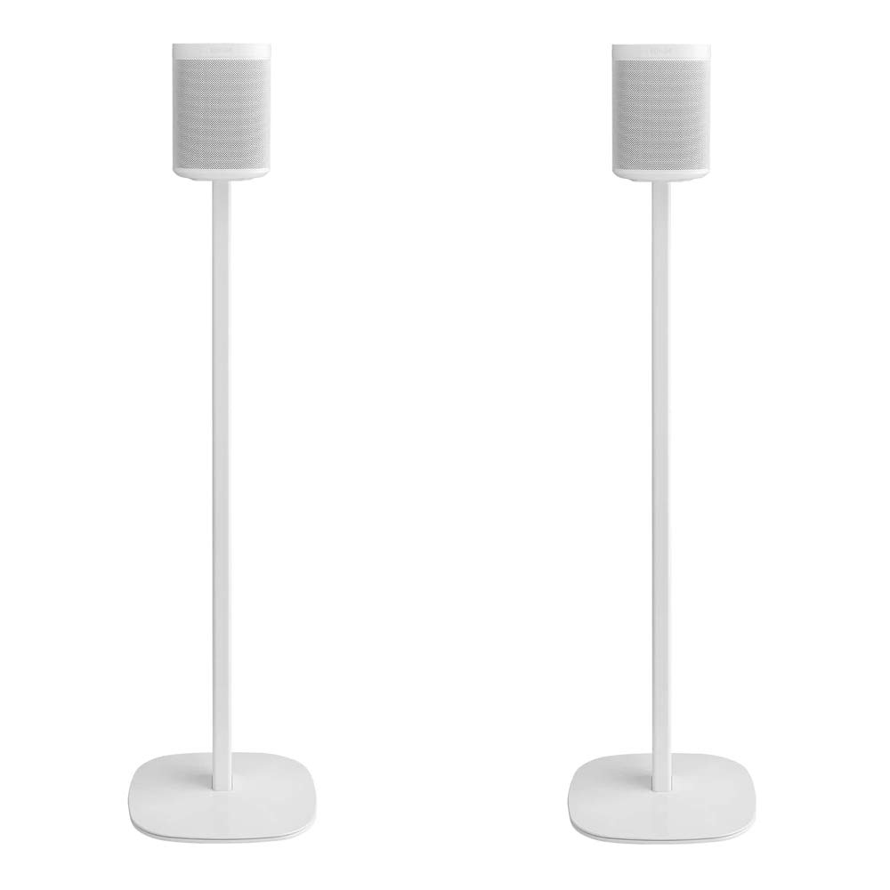 Cavus Floor Stand Suitable for Sonos Speakers (White, ONE Pair) by Cavus