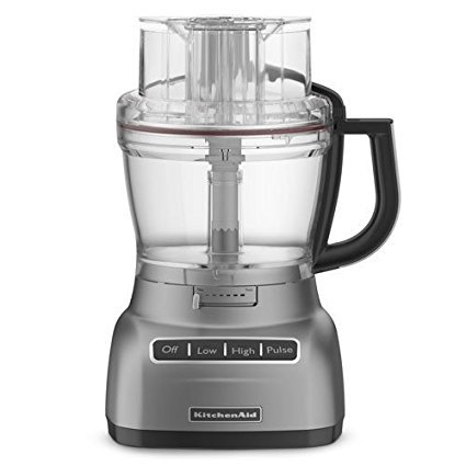KitchenAid KFP1344 13-cup Architect Series Food Processor Metallic Chrome