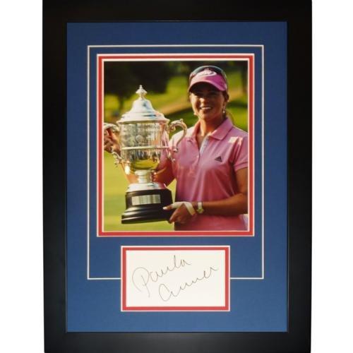 Paula Creamer Autographed 2010 US Open