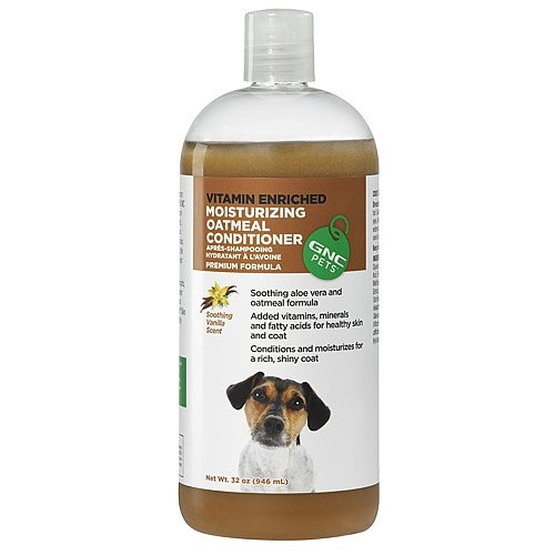 GNC Pets Moisturizing Oatmeal Conditioner, Vanilla Scented, 32 ()