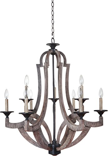Craftmade 35129-WP 9 Light Chandelier