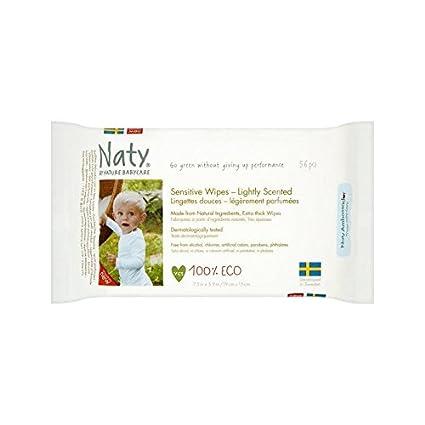 Naty Toallitas Perfumadas Eco 56 Por Paquete