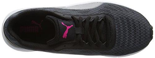Puma Meteor Wn's - Zapatillas de Entrenamiento Mujer Negro (Asphalt-Silv 01Asphalt-Silv 01)
