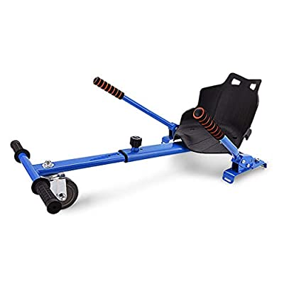Go Kart Conversion Kit, Adjustable Self Balancing Hoverboard Scooter Accessories Compatible with All Hoverboards, Air Cushion Cart Rear Suspension Seat Attachment Accessory, Safer For Kids (Blue): Kitchen & Dining