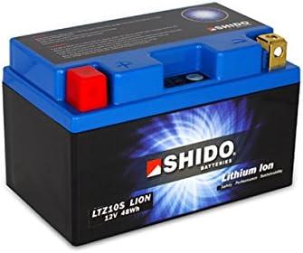 SHIDO LTZ10S LION -S- Batería de ion de litio, color azul