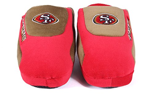 and Womens San Comfy Low Feet Francisco LICENSED NFL OFFICIALLY Pro Mens Happy Pro Low Slippers Feet 49ers UYYwqx0H