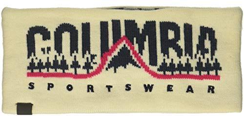 Columbia Men's CSC Reversible Headband, Light Bisque, - Headband Columbia