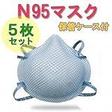 MOLDEX 医療プロ用 N95 PM2.5対応 3面立体構造防護マスク XSサイズ 5枚入り
