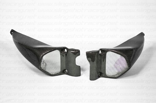 Ducati Streetfighter S Carbon Fiber Performance Air Intake Duct Ram Tubes