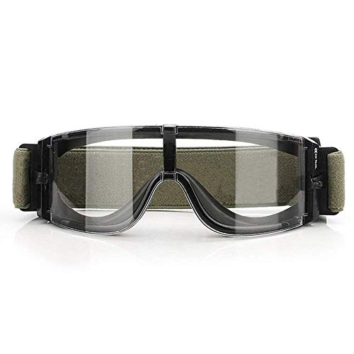 Ballistic Goggles Anti-fog Military Tactical Safety Goggles Bicycle...