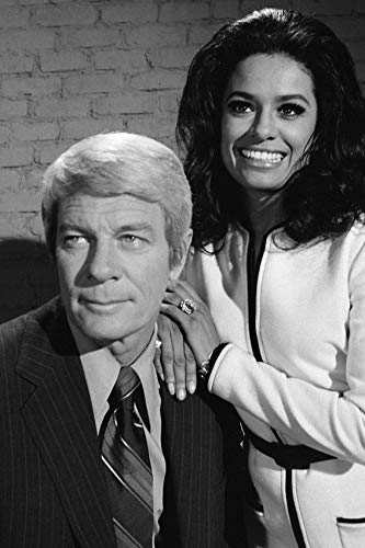Jenna Cole and Peter Graves in Mission: Impossible Imitation 1972 Episode 24x18 Poster (Best Mission Impossible Episodes)