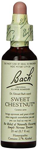 Bach Original Flower Remedies Supplement, Sweet Chestnut, 20 ml, 0.7 Fluid Ounce