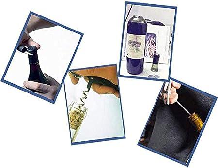 TETHYSUN Abrebotellas de vino Sacacorchos eléctrico recargable inalámbrico automático sacacorchos abridor de botellas de vino con cortador de hoja