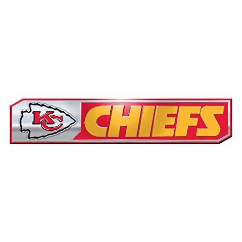 NFL Kansas City Chiefs Truck Emblem, 2-Pack (Best Outlet Mall In Kansas City)