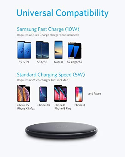 Wireless-Charger-Anker-10W-Qi-Certified-Wireless-Charging-Pad-Compatible-iPhone-Xs-MaxXRXSX88Plus-10W-Fast-Charging-Galaxy-S10S9S9S8Note-9-No-AC-Adapter-3ft-Cable-Included