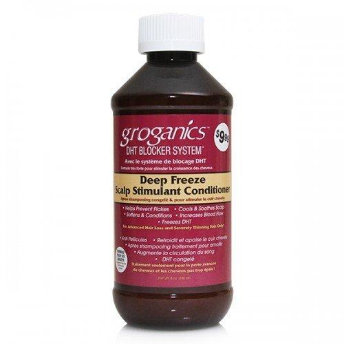 Groganics Deep Freeze Scalp Stimulant Conditioner, 8 oz