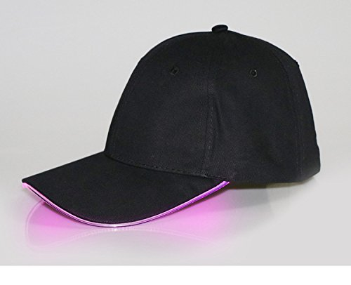 4fd401c7b5688 Amazon.com   Kocome Adjustable LED Lighted Sports Hats Glow Club Party  Baseball Hip-Hop Golf Cap (Yellow